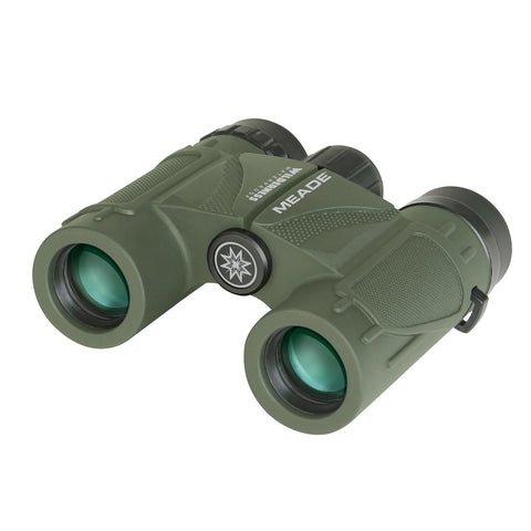 Meade 125021 Wilderness Binoculars - 10x25 Green