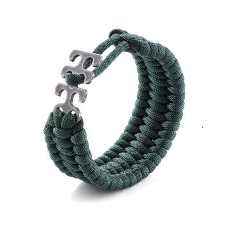 CKRT Adjustable Paracord Bracelet - Green