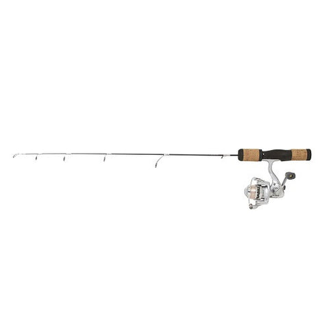 "Frabill Fin-S Pro 30"" Medium Ice Fishing Rod and Reel Combo"