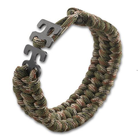 CKRT Adjustable Paracord Bracelet - Camo