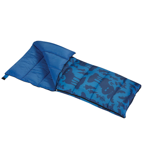 Wenzel Boys Moose Sleeping Bag 40 Degree Short Right Handed