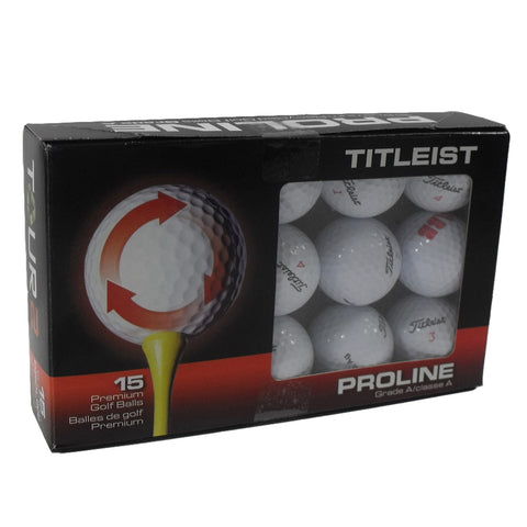 Nitro Golf Titleist Tour 2 Pro-Line Golf Balls 15 Pack