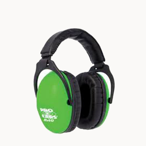Pro Ears Passive Revo Ear Muffs Green PE26-U-Y-003