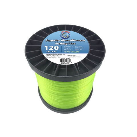 Joy Fish 5 Lb Spool Monofilament Fishing Line-120Lb Hi-Vis
