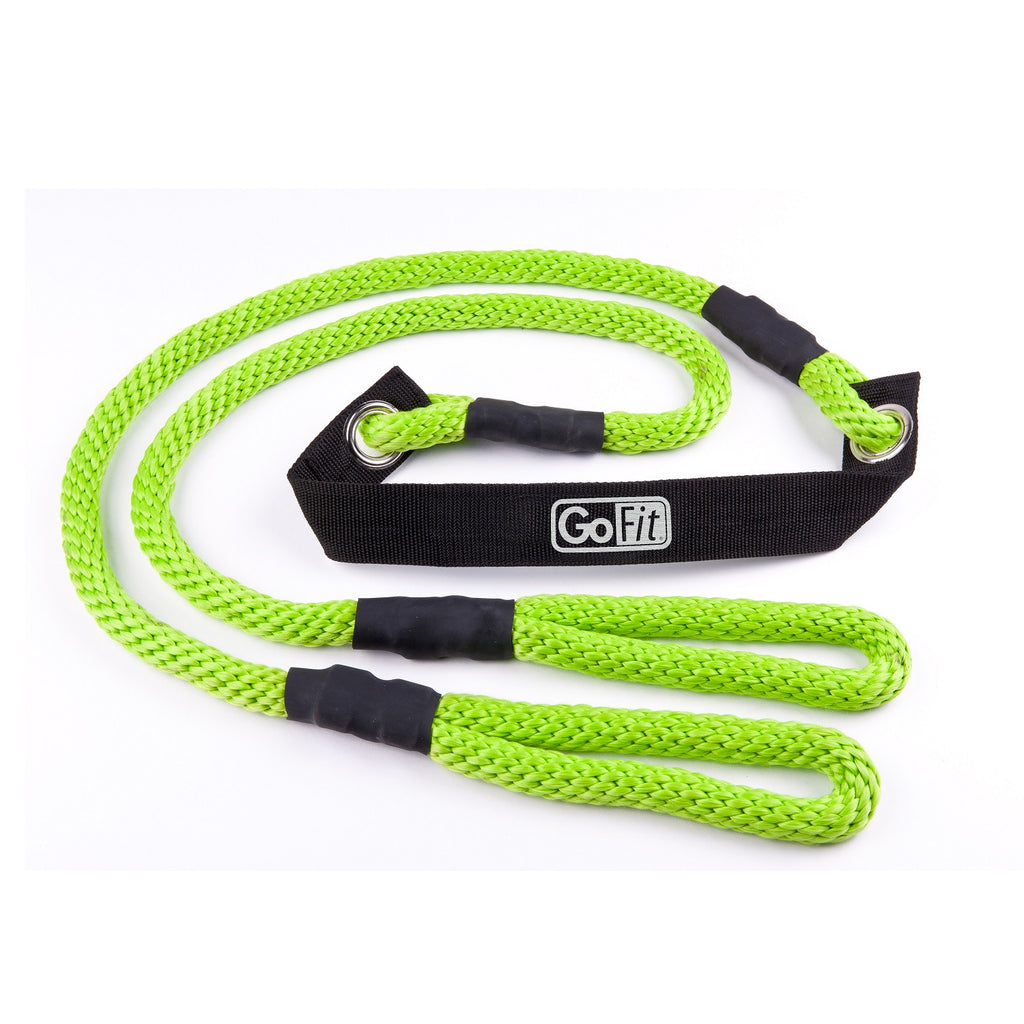 GoFit 9' Stretch Rope with Exercise Manual
