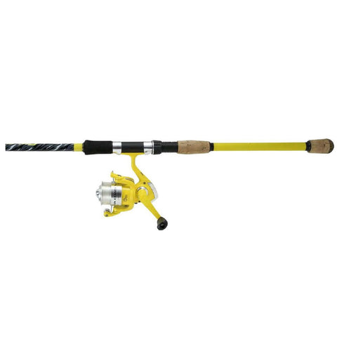 Okuma Fin Chaser X Series Combo 6'6ft 2pcs Yellow