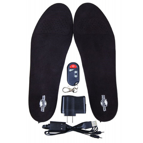 Heated Gear Hot Feet Insoles with Remote Kit Size Medium