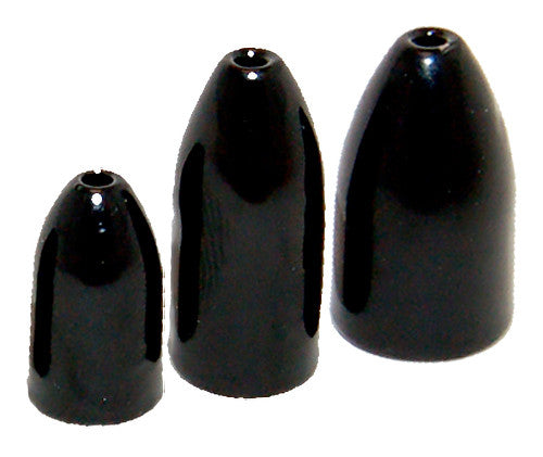 Bullet Weight 7/8 oz Black 2 Pack
