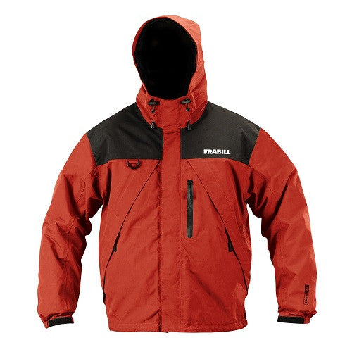 Frabill F2 Surge Rainsuit Jacket - Red - XL
