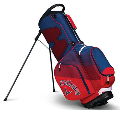 Callaway CHEV Stand Bag - Red/Navy/White