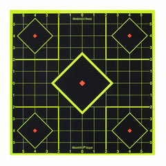 "BW Casey Shoot-N-C 17.75"" Sight-In Target - 5 Targets"