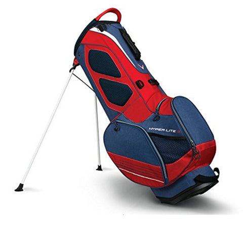Callaway Hyper Lite 3 Golf Stand Bag - Navy/Red/White