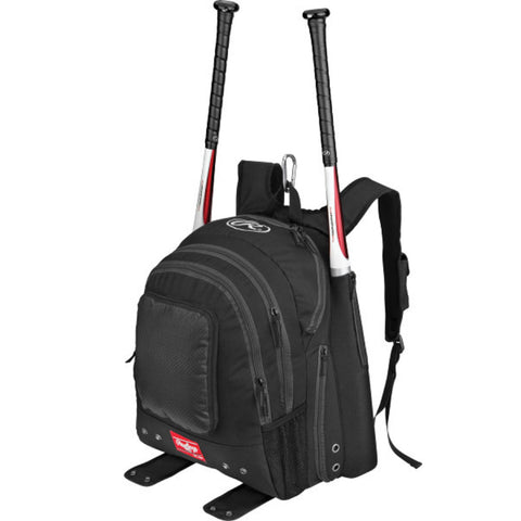 Rawlings Baseball Backpack - Black