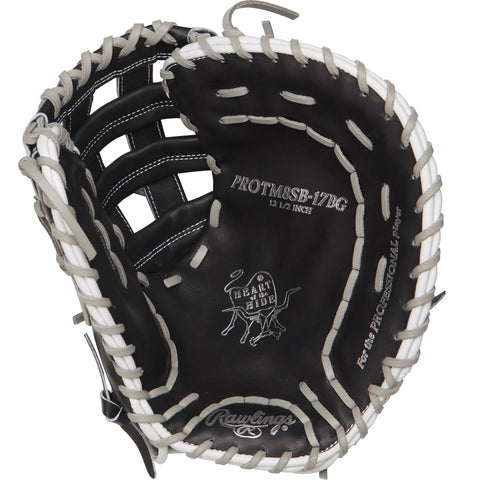 Rawlings Heart of the Hide 12.5in Softball FB Mitt LH-Black
