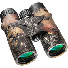 Barska 10x42 WP Blackhawk Green Lens Binoculars in Mossy Oak