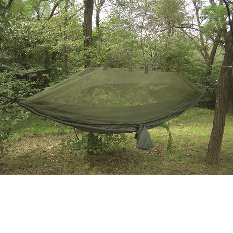 Snugpak Jungle Hammock with Mosquito Net In Olive