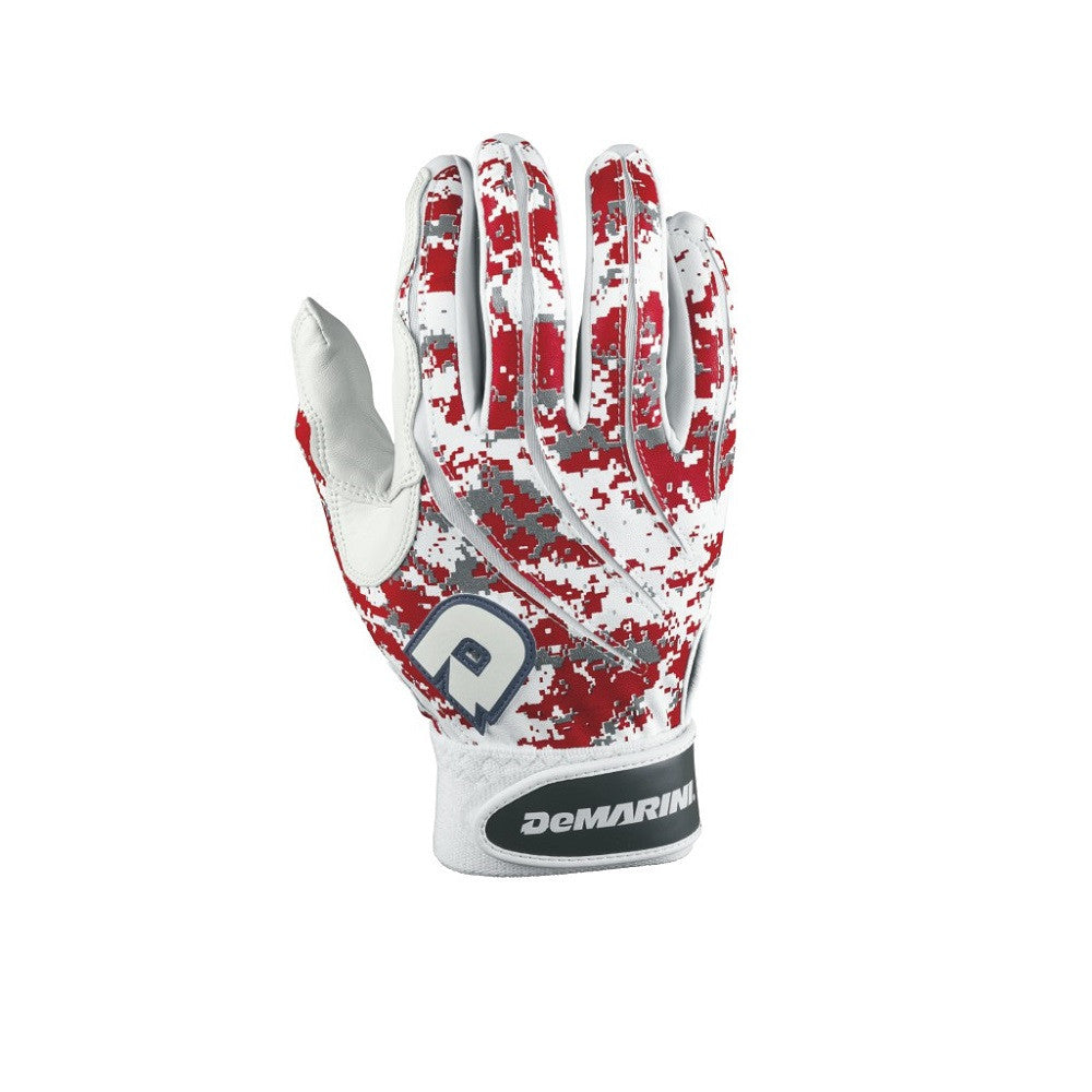 DeMarini Scarlet Digi Camo Batting Glove Men's Medium