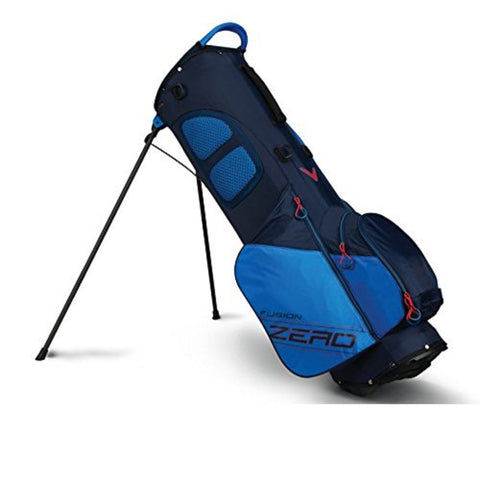 Callaway Fusion Zero Stand Bag - Navy/Royal/Red