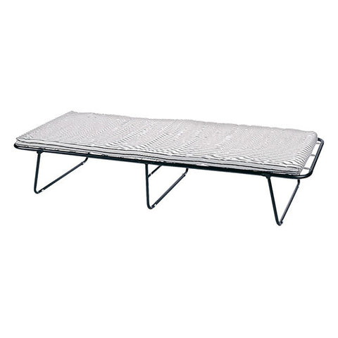 "Stansport Steel Cot With Mattress-75"" X 31"" X 13-1/2"""