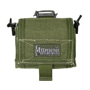Maxpedition Mega Rollypoly Folding Dump Pouch OD Green