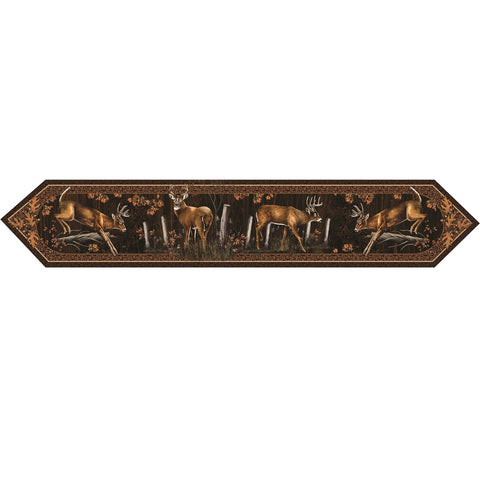 Rivers Edge Deer Table Runner 71in x 13in