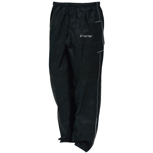 Frogg Toggs Road Toad pant Black XLarge FT83132-01XL