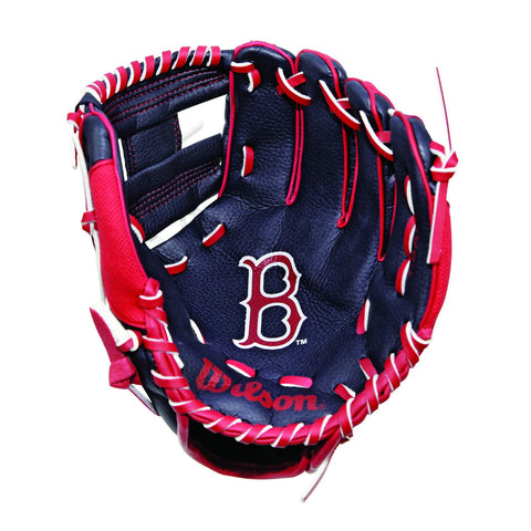 "Wilson A0200 10"" Boston Red Sox Baseball Glove"
