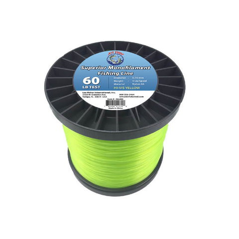 Joy Fish 5 Lb Spool Monofilament Fishing Line-60Lb Hi-Vis