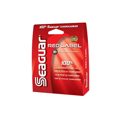 Seaguar Red Label 100% Fluorocarbon  1000yd 6lb 6RM1000