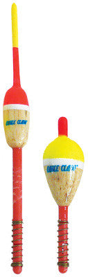 Eagle Claw Balsa Floats 50Pk 1/2 inch Pencil-Spring
