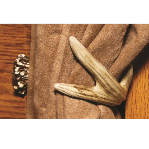 Rivers Edge Antler Curtain Tieback 1 Pair