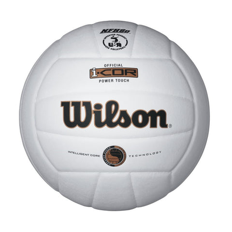 Wilson i-COR Power Touch Volleyball White