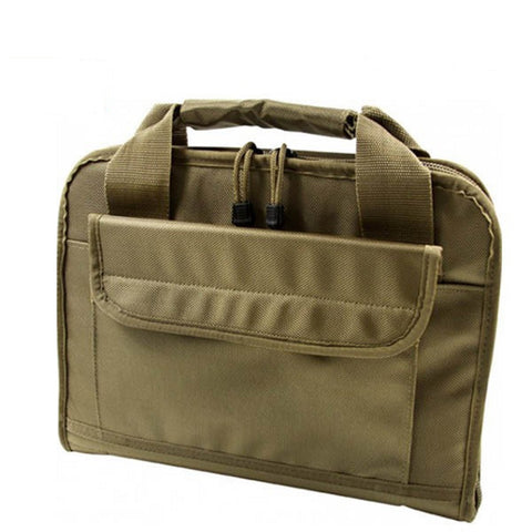 AIM Sports Discreet Pistol Bag in Tan