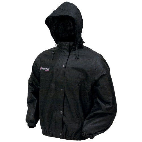 Frogg Toggs Pro Action Jacket Ladies Black Med PA63522-01MD