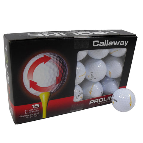 Nitro Golf Callaway Tour 2 Pro-Line Golf Balls 15 Pack