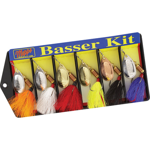 Mepps Basser Kit - Dressed #3 Aglia Assortment
