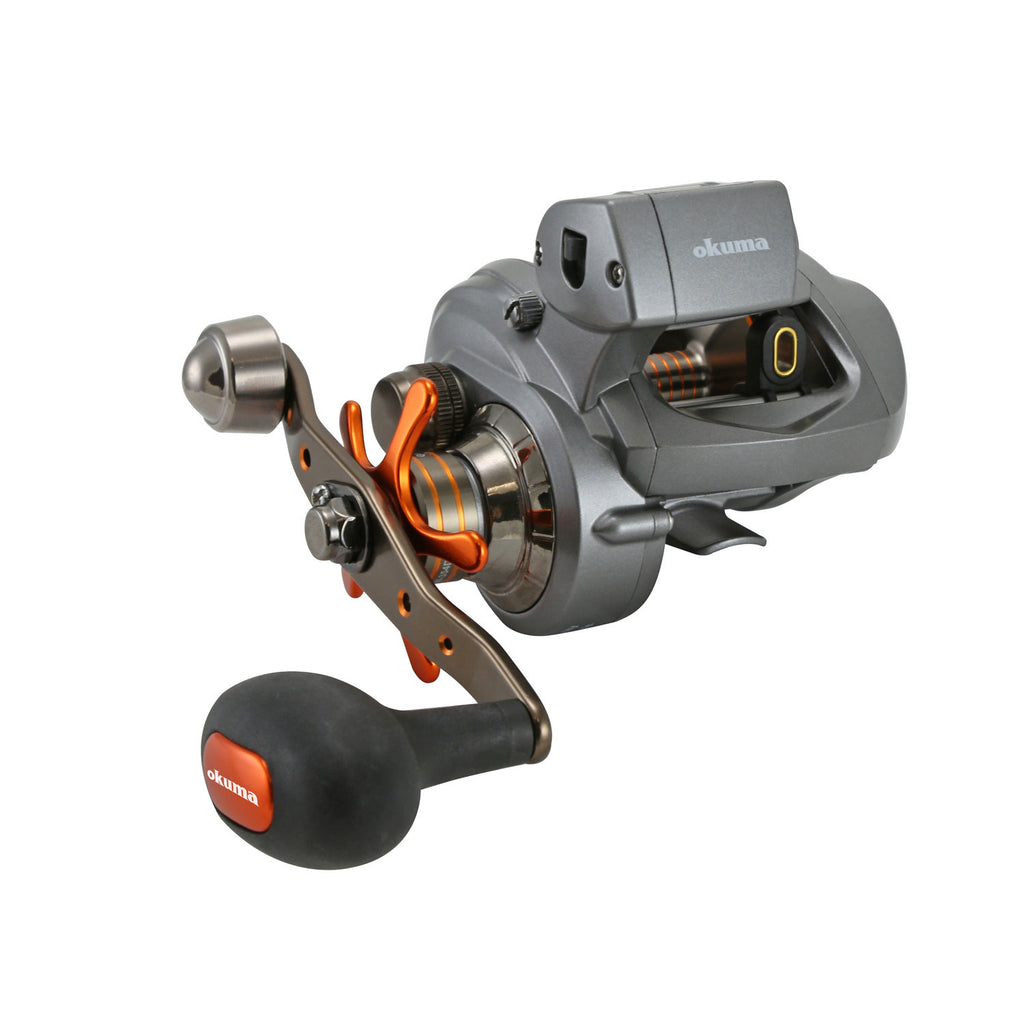 Okuma Coldwater 350 Low Profile Linecounter Reel CW354D RH