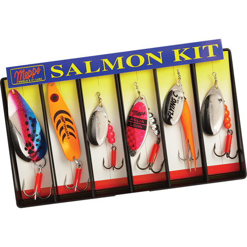 Mepps Salmon Kit - Plain Lure Assortment