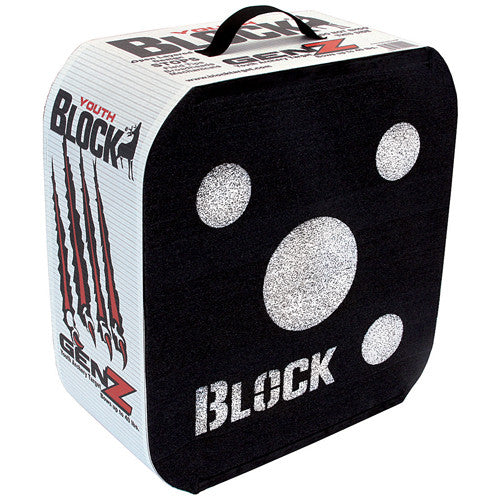 Block Genz Youth Archery Target 16Hx17Wx7.5D. Wt: 6.25 lbs.