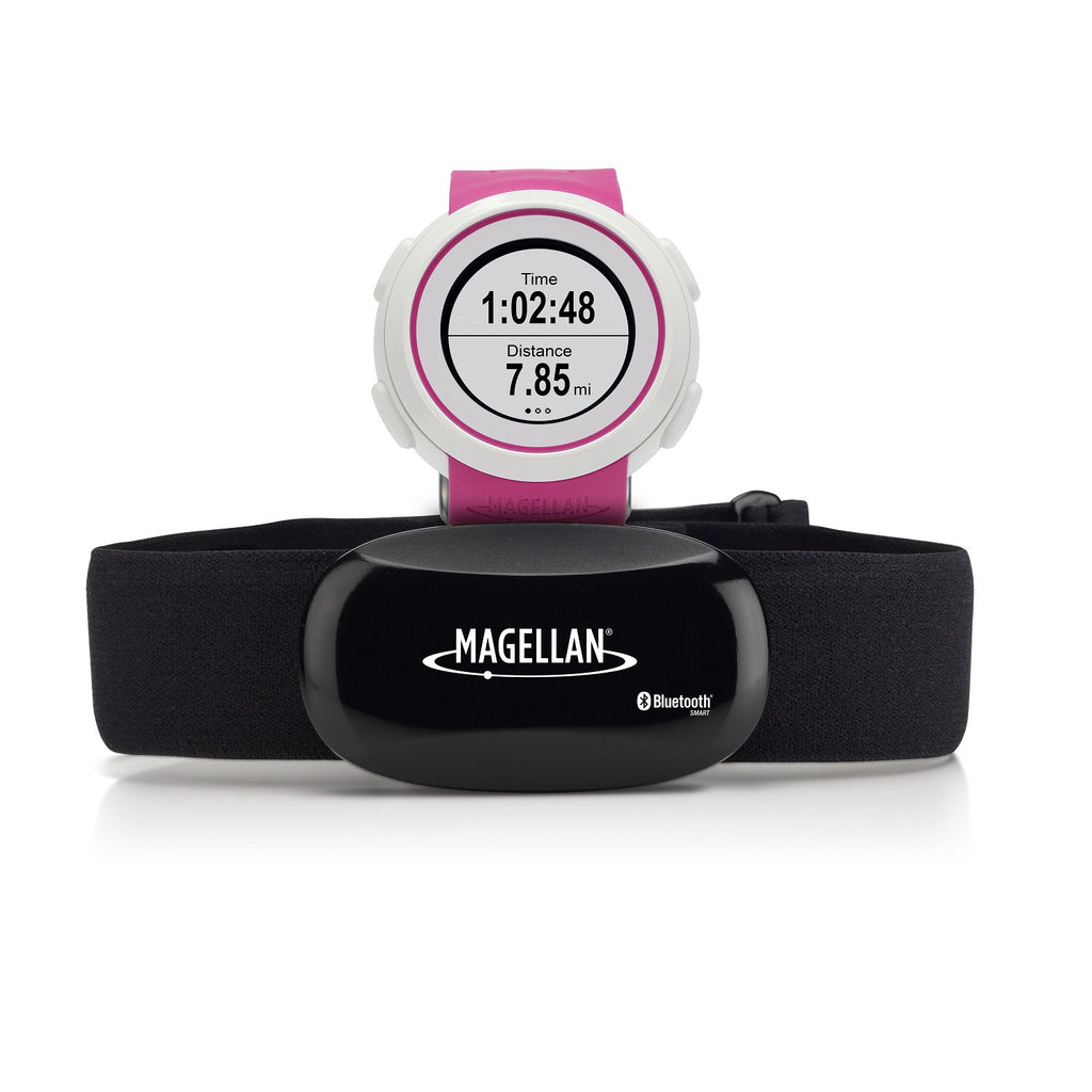 Magellan Echo Fit Sports Watch with Heart Rate Monitor Pink