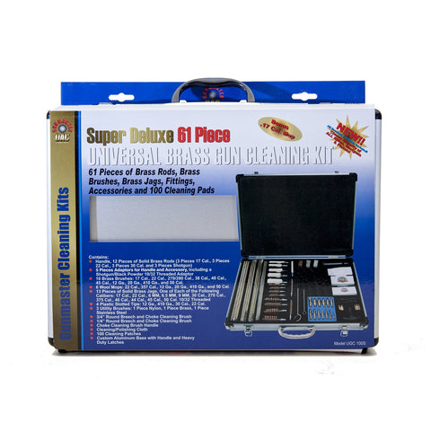 Gunmaster Super Deluxe Universal 61 Piece Cleaning Kit