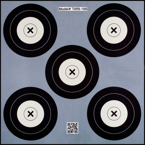 .30-06 5 Spot Paper Target 100 Count