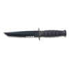 Ka-bar Short Knife Tanto Black Leather Sheath Serrated