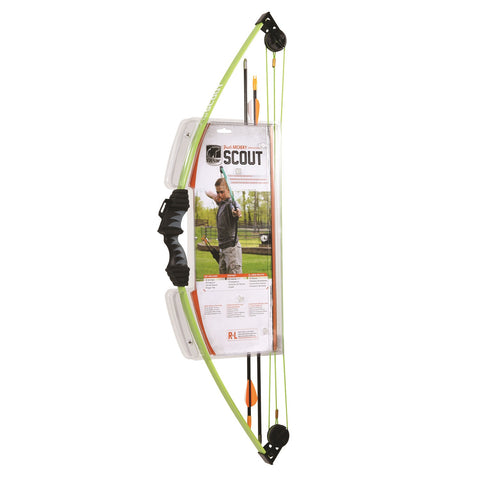 Bear Archery Scout Bow Set Flo Green