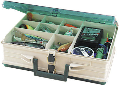 Plano Magnum Tackle Box Double Side Sandstone/Green 1119-06