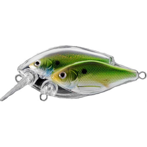 Koppers BaitBall Threadfin Shad Squarebill 60 Metallic/Green
