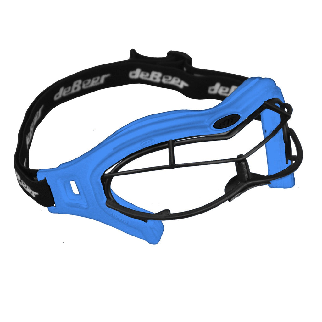deBeer Lacrosse Lucent SI Goggle Royal Frame and Black Wire