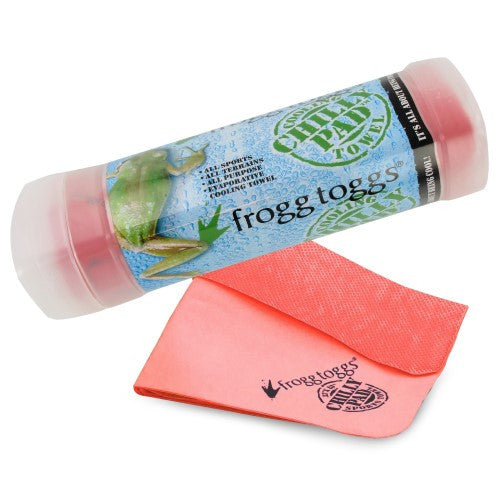 Frogg Toggs The Original Chilly Pad Cooling Towel Red