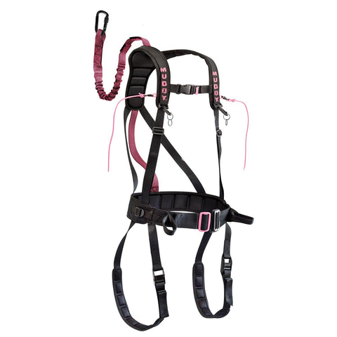 Muddy Safeguard Harness - Pink S/M