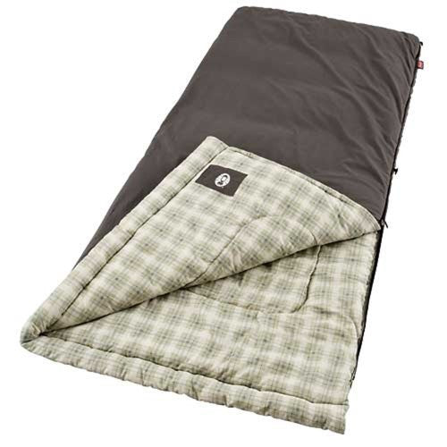 Coleman Heritage 84x40 Inch Rectangle Sleeping Bag Navy